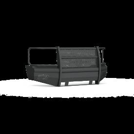 Vaquero Front Non-Winch Bumper Full Guard - Texture Black 2003-2007 CHEVY 2500 3500