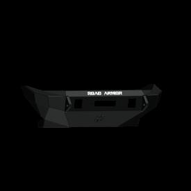 Stealth Front Winch Bumper Mid Width - Texture Black WARN ZEON   2007-2018   JEEP  JKU JK
