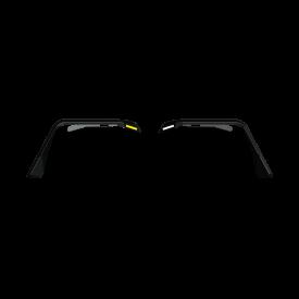Stealth Front Fender Flare JK Body Armor w/ Switchback LED DRL - Texture Black   2007-2018   JEEP  JKU JK