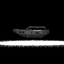 Stealth Front Winch Bumper Sheet Metal Pre-Runner Guard - Texture Black WARN ZEON 10S, Smittybilt XRC 2016-2019 NISSAN TITAN